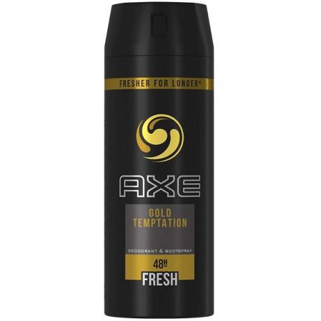Axe Gold Temptation Deodorant & Bodyspray 150ML