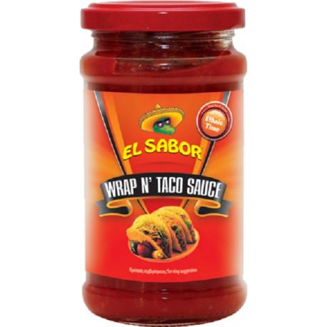 El Sabor Wrap Taco Sauc 220gm