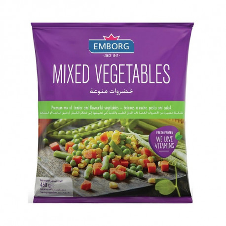Emborg Mixed Vegetables 450G
