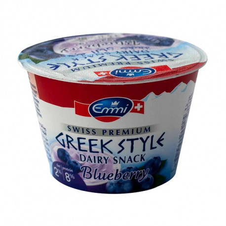 Emmi Greek Style Blueberries 2% Fat Yoghurt 150G