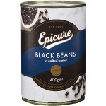 Epicure Black Beans in Salted Water 400G