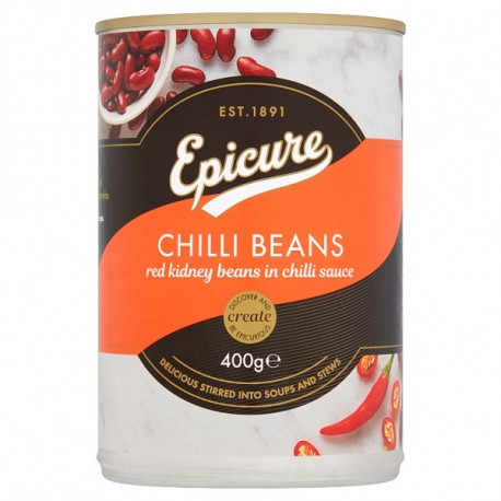 Epicure Red Kidney Beans in Chilli Sauce 400G
