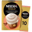 Nescafe Gold Cappuccino Unsweetened Taste 10x14G