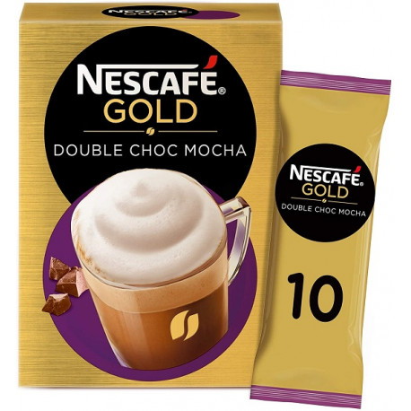 Nescafe Gold Double Choc Mocha 10x18G