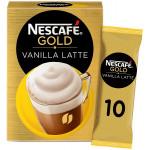 Nescafe Gold Vanilla Latte 10x18G