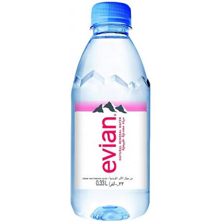 Evian Natural Mineral Water 330ML