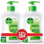Dettol Original Hand Wash Twin Packs 200ML
