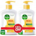 Dettol Fresh Hand Wash Twin Pack 200ML