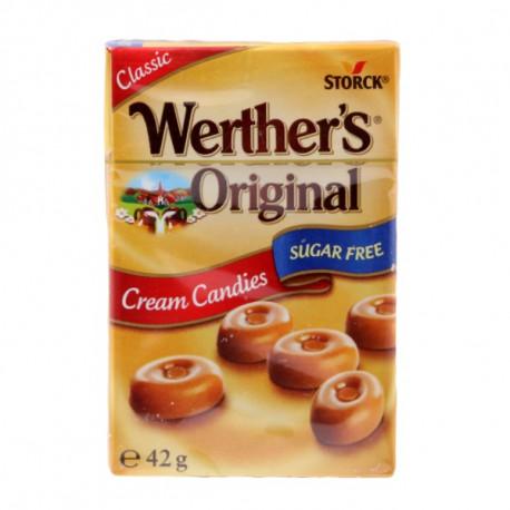 Storck Werther's Original Cream Candies Minis Sugar Free 42g