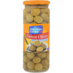 American Garden Whole Olives Green 450G