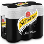 Schweppes Soda Water 6x330ml pack