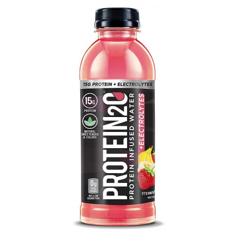 Protein2o 15g Strawberry Banana Protein Infused Water 500ML