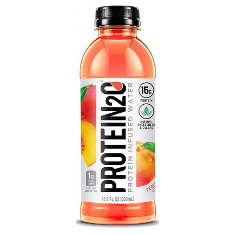 Protein2o 15g Peach Mango Protein Infused Water 500ML