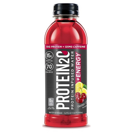 Protein2o 15g Cherry Lemonade Protein Infused Water 500ML