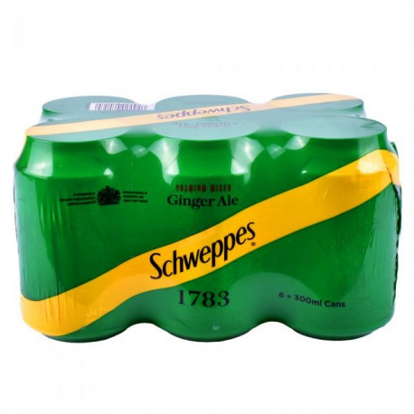 Schweppes Ginger Ale 6x300ml