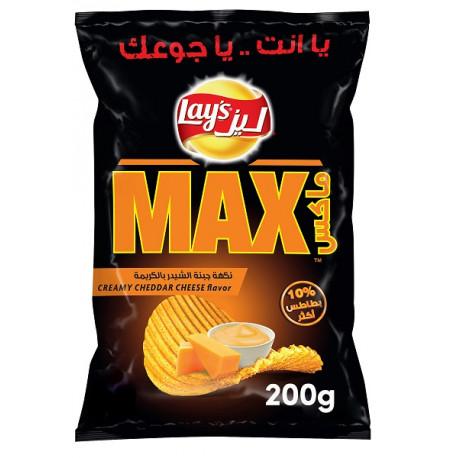 Lays Max Creamy Cheddar 200g