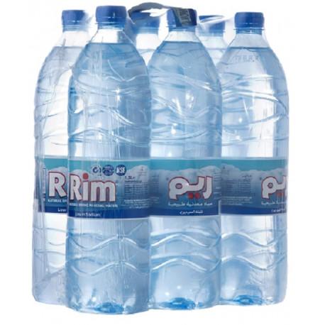 Rim Natural Mineral water 1.5L X6