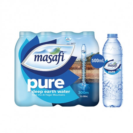 Masafi Water 12 x 500ml