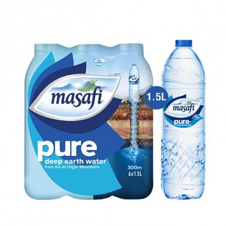 Masafi Water Pack 6x1.5L