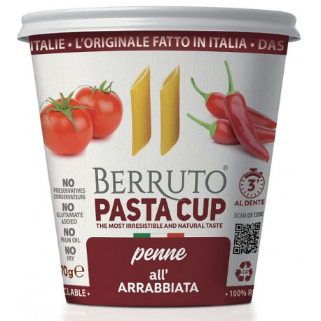 Arrighi Cup Pasta Penne 70G