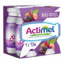 Actimel Mixed Berries Dairy Drink 4X93Ml