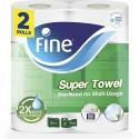 Fine Super Towel, Sterilized, 60 x 2Ply 2 Rolls