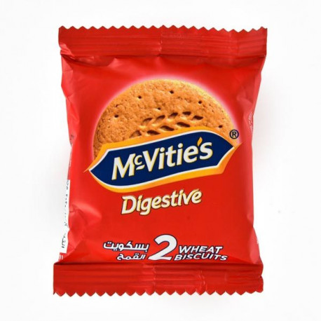McVities Digestive 2 Wheat Biscuits 29G