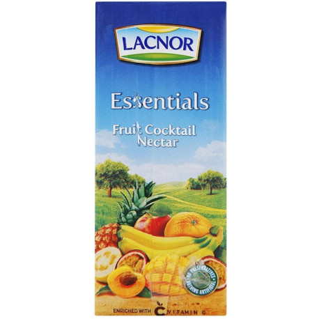 Lacnor Essentials Fruit Cocktail Nectar 180ML