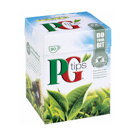 PG Tips 40 Pyramid Tea Bags 116g