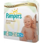 Pampers Premium Care 4 Maxi 7-18kg 23 Diapers