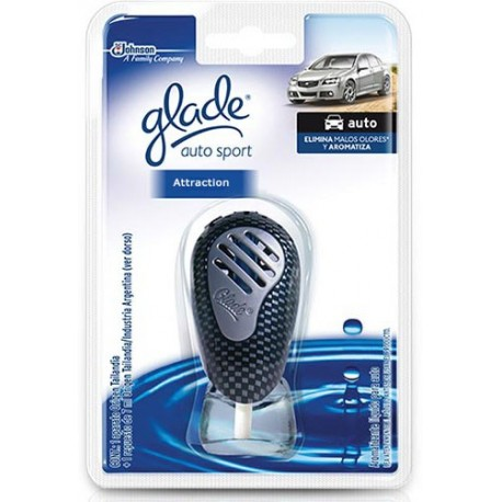 Glade Auto Sport New Car Perfume 7ml From Supermart Ae