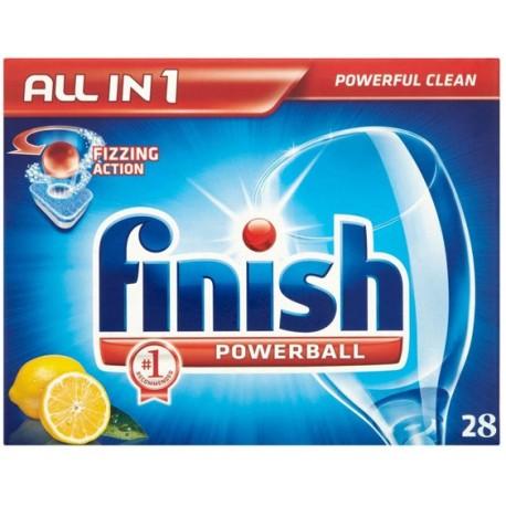 Finish Powerball All in 1 x 28 Lemon 554g
