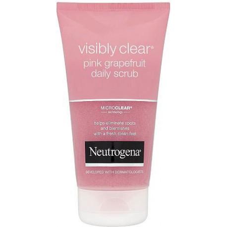 Neutrogena Acne Wash Pink Grapefruit Daily Scrub 150ml