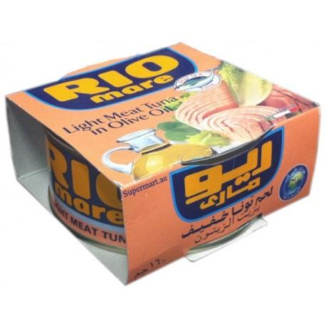 Rio Mare Light Meat Tuna Olive Oil 160G