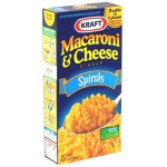 Kraft Macaroni & Cheese Dinner Spirals 156g