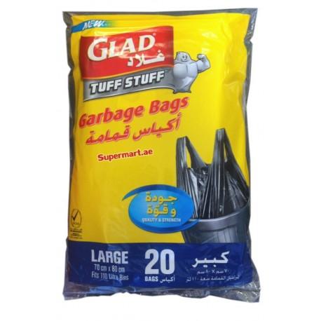 Glad Tuff Stuff Garbage Bags XL 18Bags (170L)