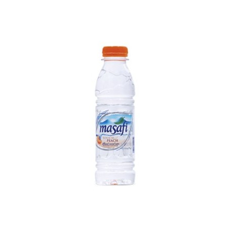 Masafi Touch of Peach Flavoured Mineral Water 500ml