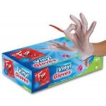 Fun 100 Disposable Vinyl Gloves Medium
