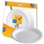 Fun 25 Disposable Foam Plates 10 Inch