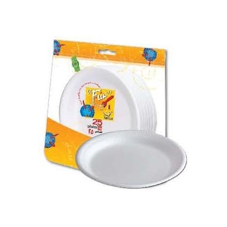 "Fun 25 Disposable Foam Plates 10"""