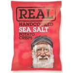 Real Handcooked Real Sea Salt Potato Crisps 150g