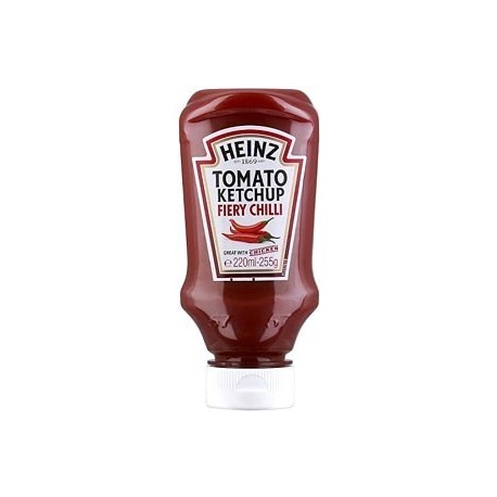 Heinz Tomato Ketchup Fiery Chilli 255g