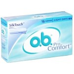 O.B. Pro Comfort 16 Tampons Light Days SilkTouch