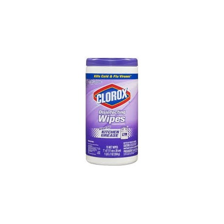 Clorox Disinfecting Wipes Fresh Lavender 75 Wipes