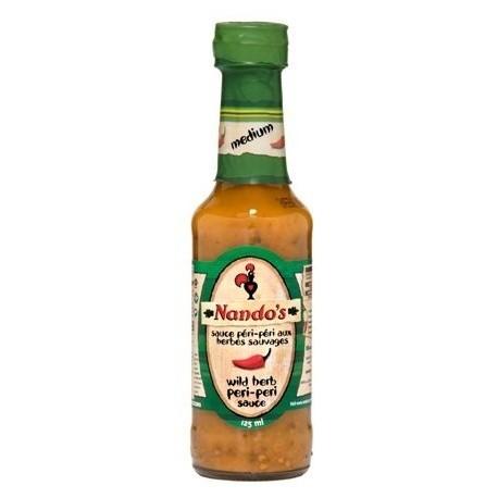 Nando's Wild Herb Peri-Peri Sauce 125ml