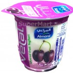 Almarai Vetal Layered Black Cherry Yoghurt 140g