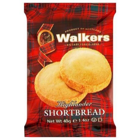 Walkers Highlander Shortbread 40g