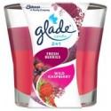 Glade Fresh Berries Wild Raspberry Candle 113g