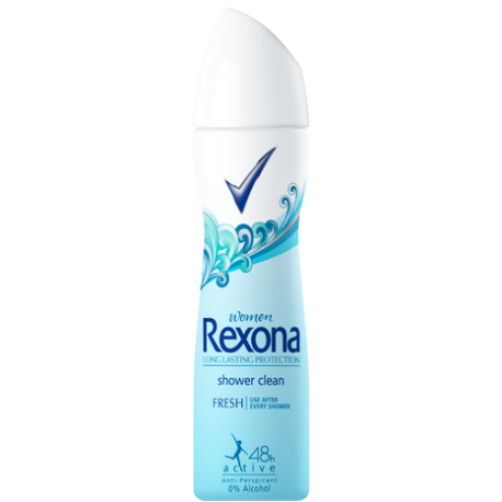 Rexona Women Shower Clean 150ml