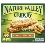 Nature Valley Roasted Almonds Granola 12 bars 6x2